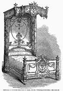 Heal Framed Prints - Victorian Bed, 1862 Framed Print by Granger