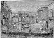 Chaise Prints - Victorian Bedroom, 1884 Print by Granger