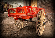Spokes Metal Prints - Victorian Cart Metal Print by Adrian Evans