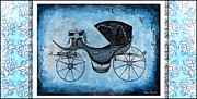 Coaches Prints - Victorian Coach Print by Mary Morawska