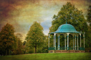 Bandstand Prints - Victorian Entertainment Print by Meirion Matthias