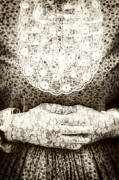 Glove Prints - Victorian Hands Print by Joana Kruse
