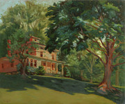 Sacred Art Paintings - Victorian Homestead by Bruce Zboray