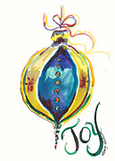 Holiday Notecard Originals - Victorian Joy Ornament by Michele Hollister - for Nancy Asbell