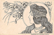 Victorian Woman Posters - Victorian Lady - 2 Poster by Nomad Art And  Design