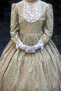 Period Dress Prints - Victorian Lady Print by Joana Kruse