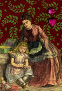 Sewing Mixed Media - Victorian Mother s Day by Marcia Masino