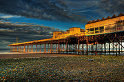 Seaside Digital Art Posters - Victorian Pier Poster by Adrian Evans