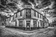 Victorian Digital Art Metal Prints - Victorian Pub Metal Print by Adrian Evans