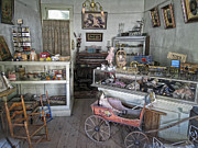 Toy Store Photo Metal Prints - Victorian Toy Shop - Virginia City Montana Metal Print by Daniel Hagerman