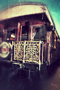 Nostalic Victorian Prints - Victorian Train Car Print by Jill Battaglia