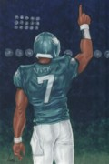 Football Mixed Media - Victorious by Clive ARNO