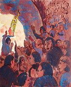 Spectators Paintings - Victory by Bill Joseph  Markowski