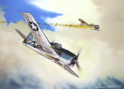 Featured Paintings - Victory For Vraciu by Marc Stewart