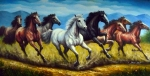 Wild Horse Paintings - Victory by Mayuri House