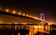 Kolkata Photos - Vidyasagar Setu, Kolkata, West Bengal by Manosij Mukherjee