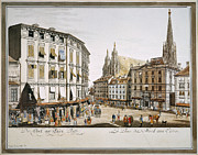1779 Framed Prints - Vienna, 1779 Framed Print by Granger