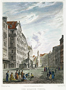 1822 Framed Prints - Vienna, 1822 Framed Print by Granger