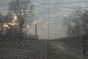 Vietnam Veterans Memorial Photos - Vietnam Veterans Memorial  by Clarence Holmes