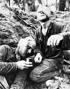 Vietnam War Medic 1966 Print by Granger