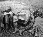 Featured Art - Vietnam War. Two Battle Weary Us by Everett
