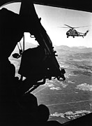 Vietnam War. Us Army Helicopter Print by Everett