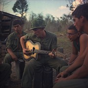 Infantry Photos - Vietnam War. Us Army Infantrymen Gather by Everett
