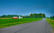 Finger Lakes Photos - View From A Country Road by Steven Ainsworth