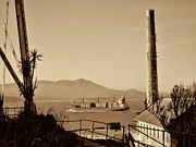 Alcatraz Metal Prints - View from Alcatraz Metal Print by Douglas Barnard