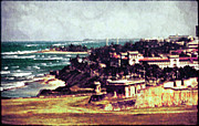 Puerto Rico Digital Art - View from Castillo de San Cristobal by Rora