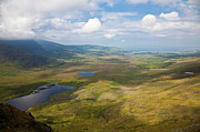 County Kerry Framed Prints - View from Connor Pass Framed Print by Gabriela Insuratelu