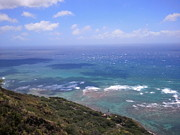 Kylani Arrington Prints - View from Diamond Head Print by Kylani Arrington