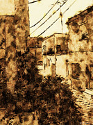 Crete Prints - View from kitchen window - III Print by James Stanfield