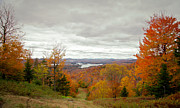Autumn Leaves Acrylic Prints - View From McCauley Mountain III Acrylic Print by David Patterson