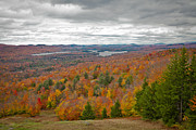 Colors Of Autumn Posters - View From McCauley Mountain IV Poster by David Patterson