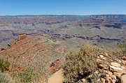 South Kaibab Trail Photos - View from Ooh Aah Point by Julie Niemela