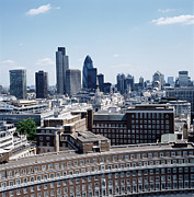 Featured Art - View From St Pauls Cathedral by Fuse