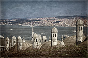 Constantinople Prints - View from the Backyard Print by Joan Carroll