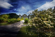 Inverarary Castle Prints - View from the Garden Print by Roy McPeak