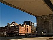 City Scape Photo Posters - View from the High Line  NYC Poster by Robert Ullmann