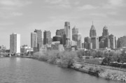 Brynn Ditsche Prints - View From the New S.St. Bridge Print by Brynn Ditsche