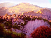 Ledge Digital Art - View from the Ranch by Cristophers Dream Artistry