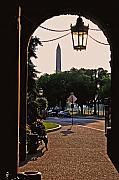 Smithsonian Prints - View From the Smithsonian Castle Print by Brian M Lumley
