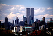 Wtc Prints - View From The Soldiers And Sailors Arch Print by Mark Gilman