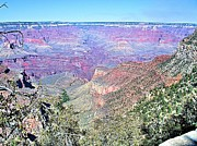 David Rizzo Posters - View from the South Rim Poster by David Rizzo