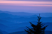 Blue Ridge Mountains Framed Prints - View from the Top Framed Print by Andrew Soundarajan