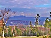 View From Von Trapps Lodge 1 Print by Bill Cannon