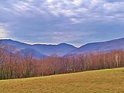 Mountains Photographs Posters - View From Von Trapps Lodge 2 Poster by Bill Cannon