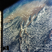Delta Photos - View Of Amazon Delta, Sts-46 by NASA / Science Source