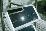 Amorphous Posters - View Of An Amorphous Solar Cell Poster by Volker Steger